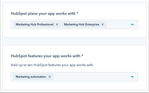 app-listing-flow-hubspot-plans-and-features