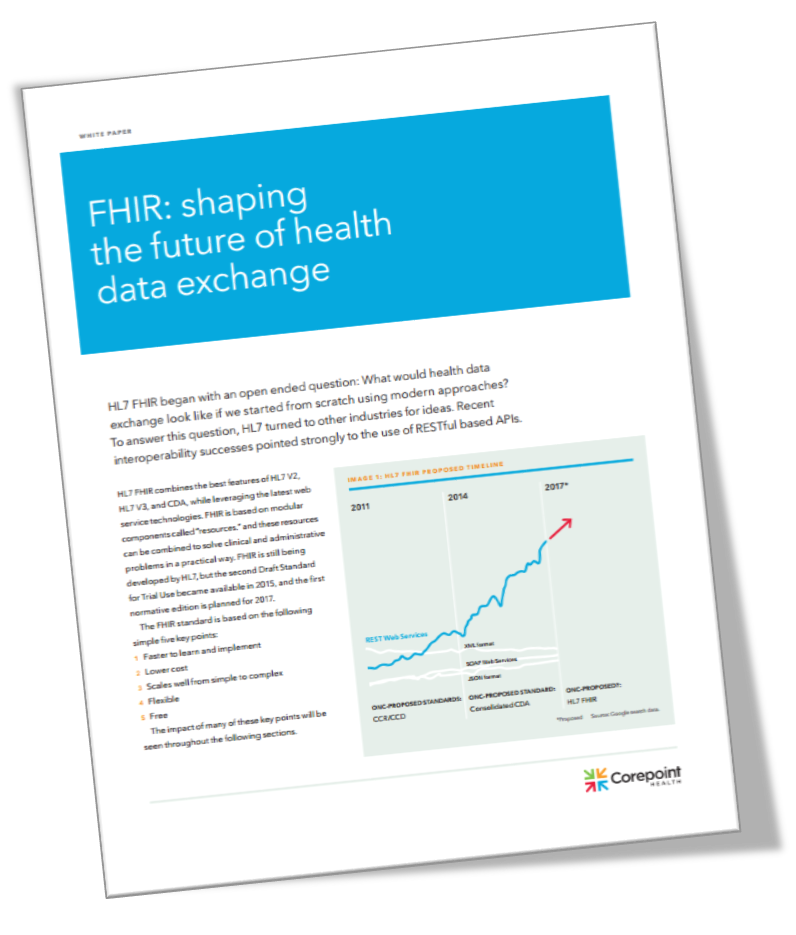 FHIR: Shaping the Future of Health Data Exchange Cover