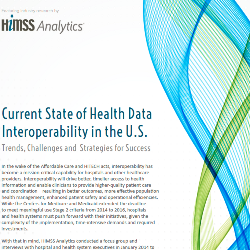 Current State of Health Data Interoperability in the U.S. Thumbnail