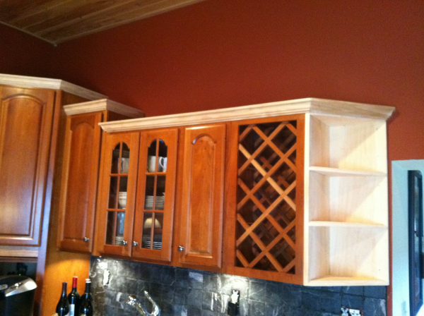 Enhance the style and beauty of your home with moulding for Adding new cabinets to existing kitchen