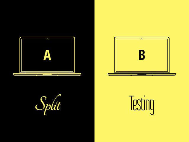 a/b testing fot ad tracking