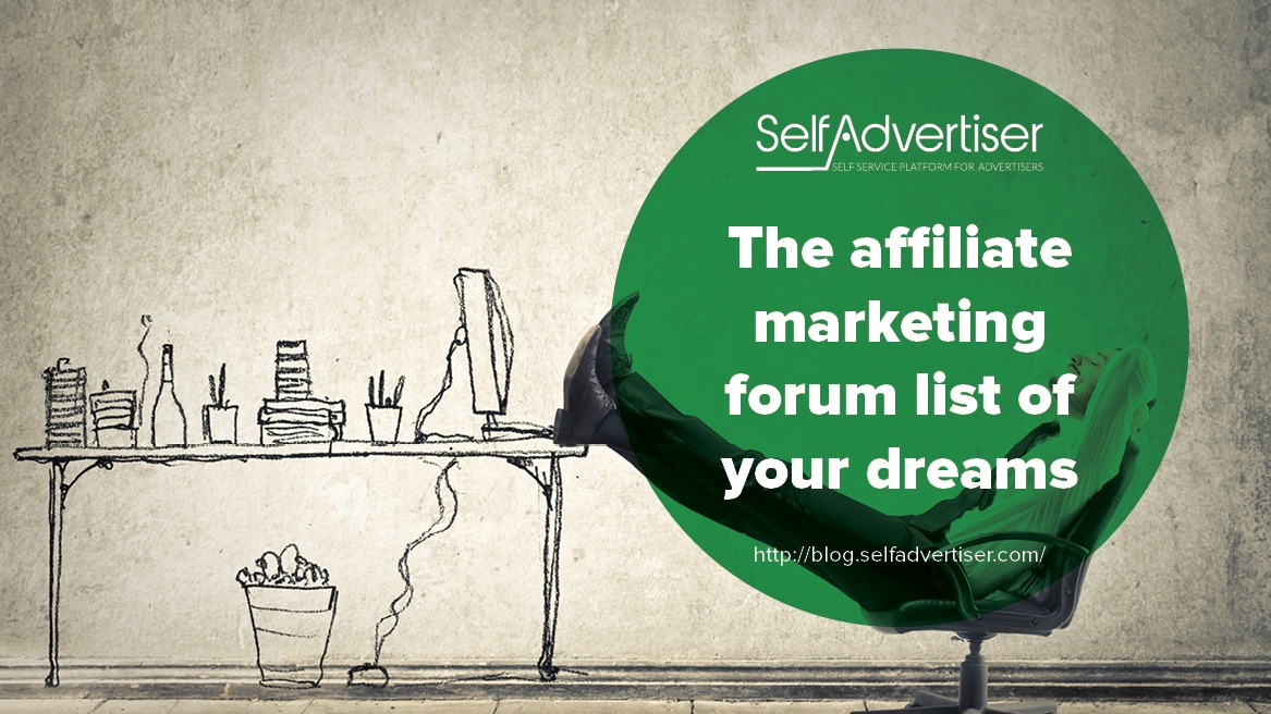 affiliate marketing forum list of your dreams header