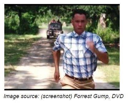 forest gump running