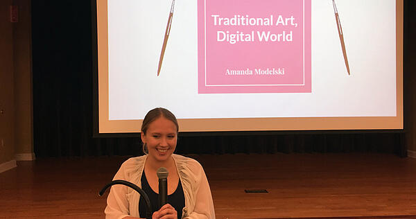 Traditional Art in a Digital World