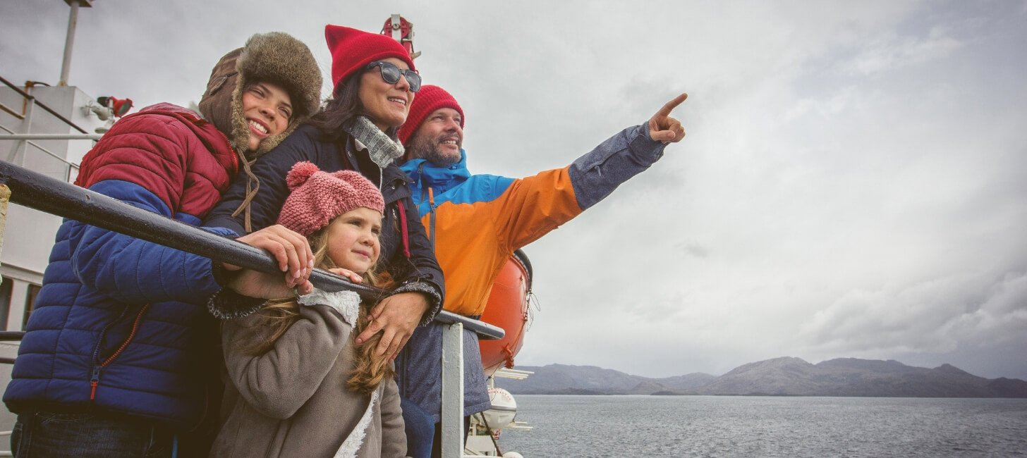 What's it like to travel through Patagonia by ferry?