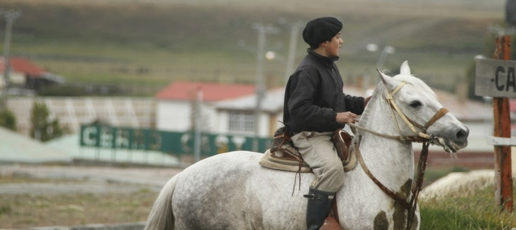 Chilean Patagonia has gauchos, too.