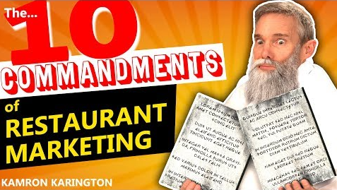 10 Commandments of Restaurant Marketing