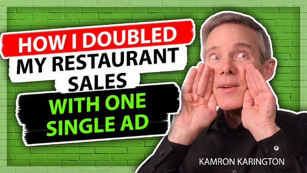 How I Increased Restaurant Sales by Double in 30 Days