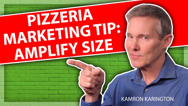 A Pizza Marketing Tip for Sizing