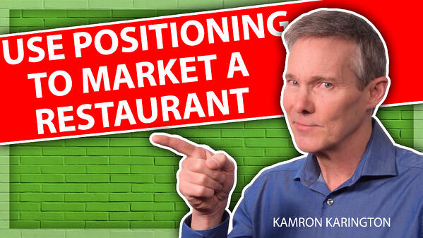 How to Market Your Restaurant with Positioning