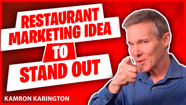 Restaurant Marketing Idea to Stand Out