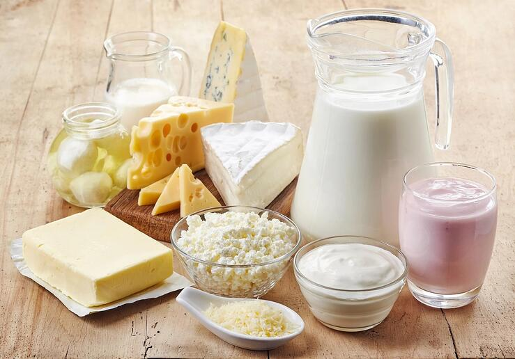 Image of dairy products