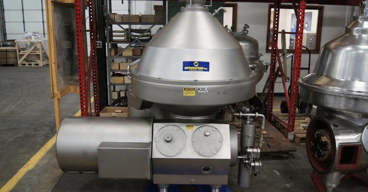 Image of a remanufactured centrifuge