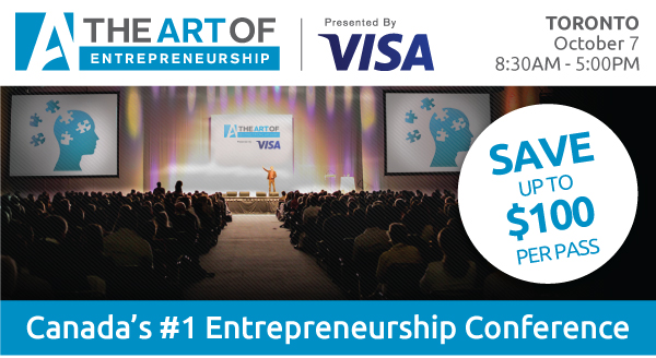 The Art of Entrepreneurship Toronto - Special opportunity