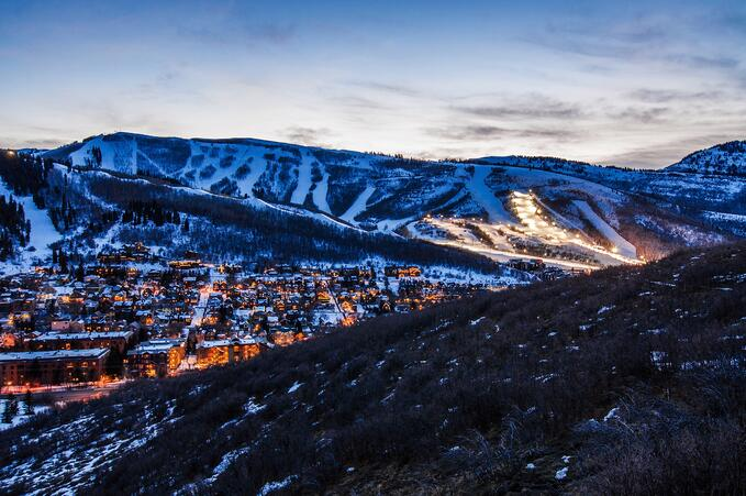 Park City Scenic Winter 3