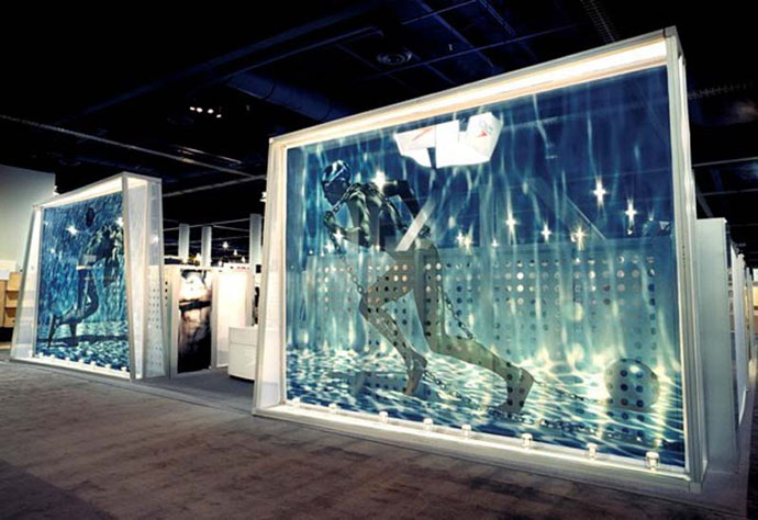 Fabric structures ready made projects exhibits - Readymade wall partitions ...