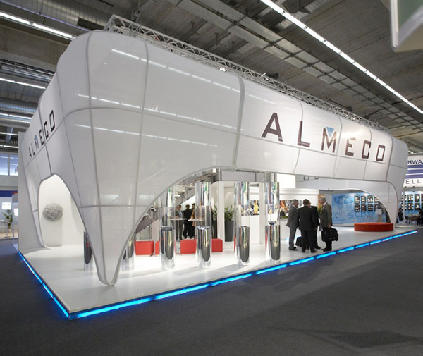 Exhibition Stand Builders Germany : Fabric structures custom made projects best
