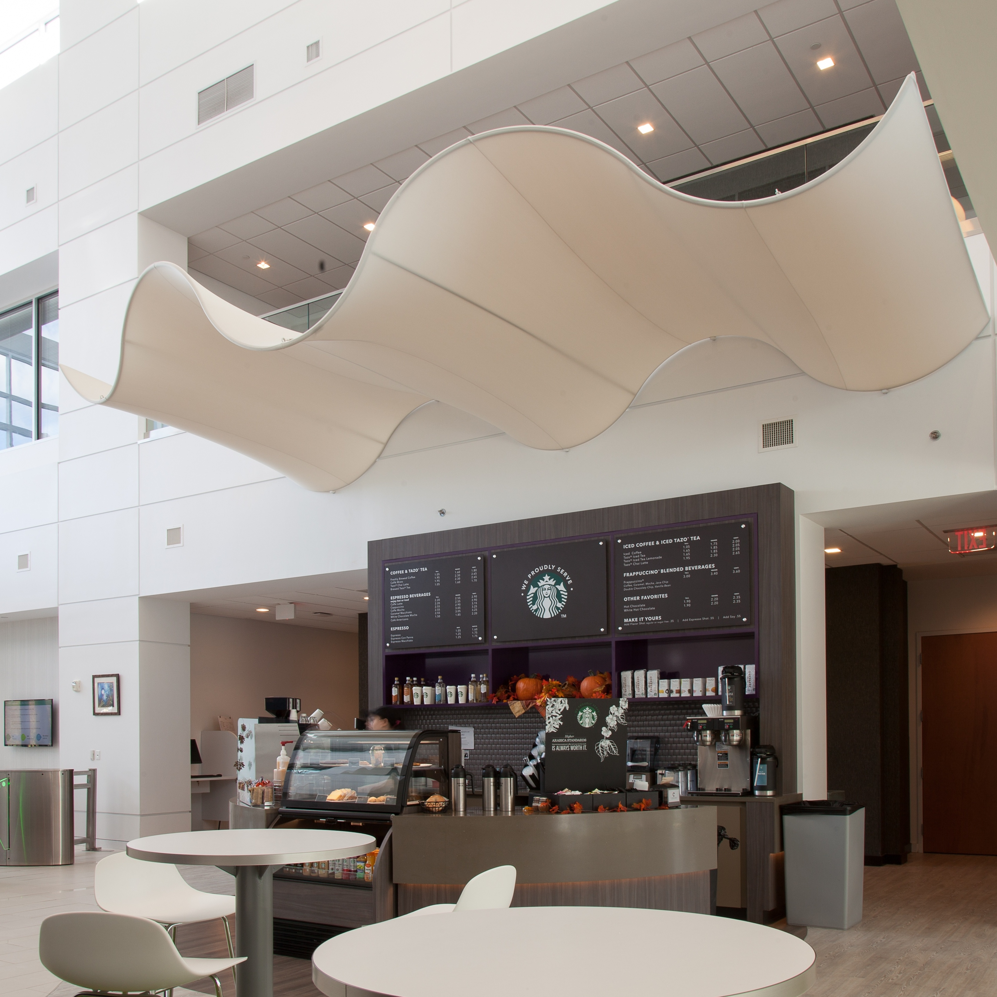 Transformit Canopy for Starbucks Coffee @ ICON