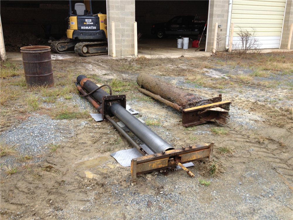 In Ground Car Lift : Underground hydraulic lift removal