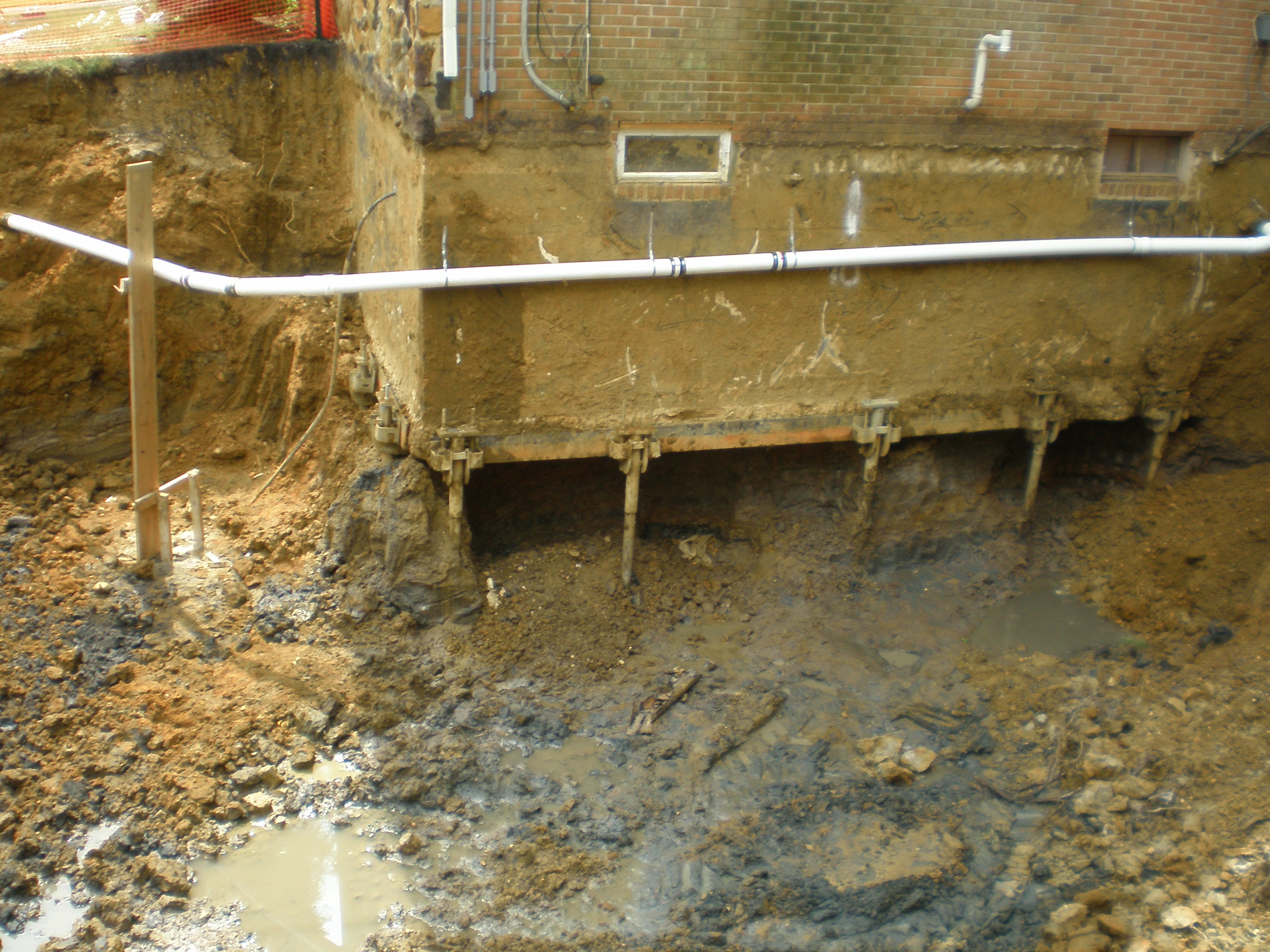 Foundation repair using helical piles chance helical pier for What is a pier foundation