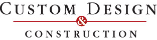 Custom Design & Construction logo