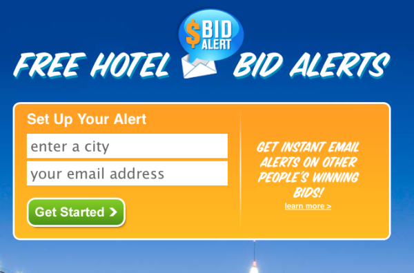 Priceline call-to-action