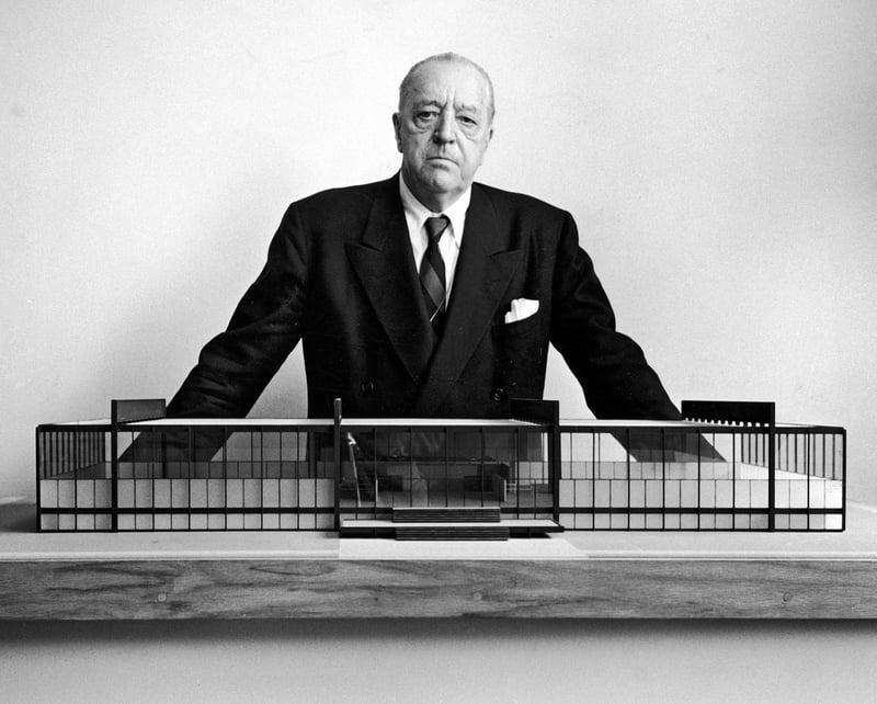 La obra de Mies Van der Rohe