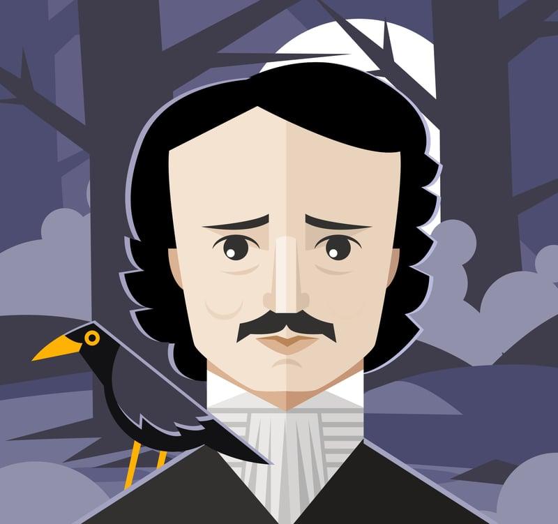 7 obras cumbres de Edgar Allan Poe