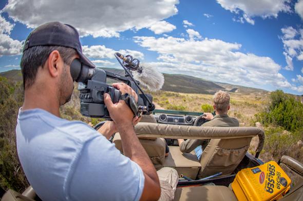 Wildlife filmmaking career