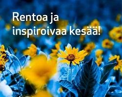 Rentoa ja inspiroivaa kesää!