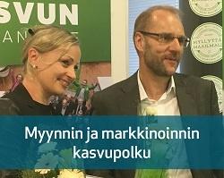Kasvu Open 2017 Myynnin ja markkinoinnin -kasvupolun voittajat on valittu