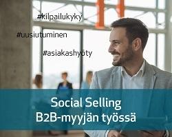 Social Selling B2B-myyjän työssä