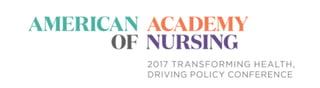 American Academy of Nursing class of 2017 fellows