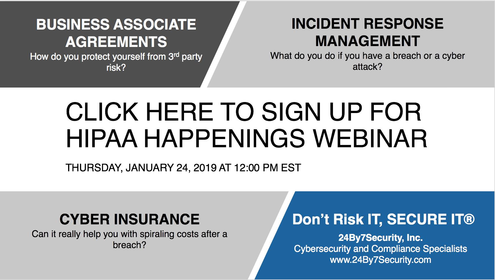 HIPAA HAPPENINGS WEBINAR JAN 24 2019-1