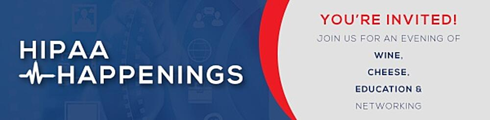 Hipaa happenings banner email