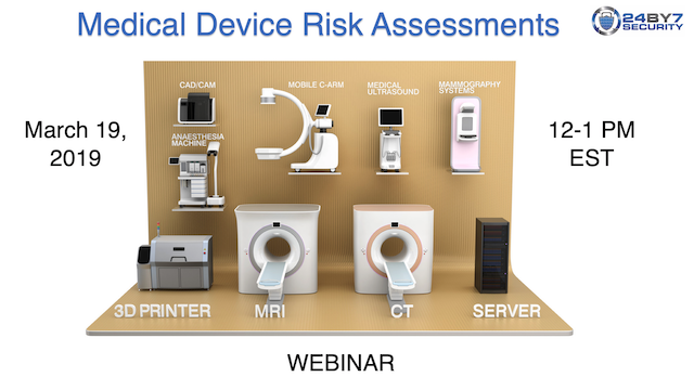 Mar 19 webinar connected medical devices
