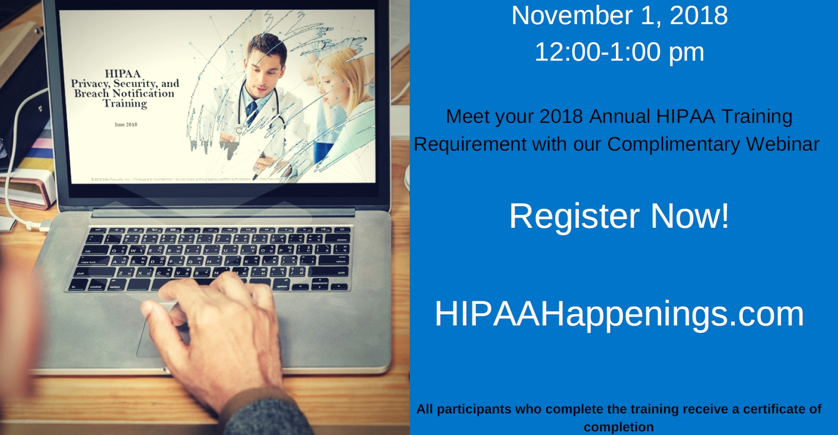 HIPAAHappenings event