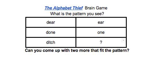 If Then Creativity Brain Games