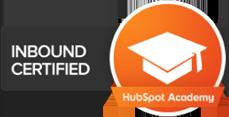 Inbound Certified HubSpot badge ESM Inbound