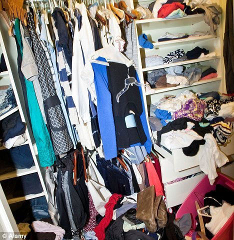 A Messy Closet How To Say Goodbye To Clothes You Don T Wear