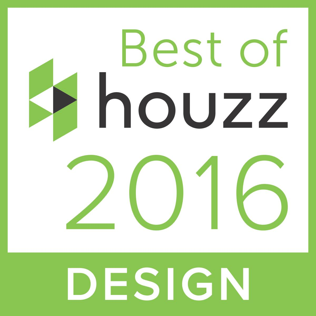 Houzz 2016 Design Award