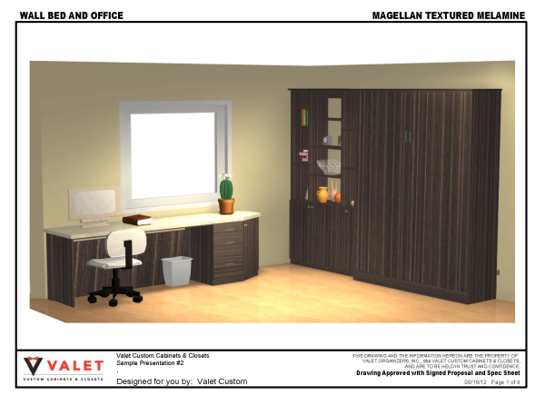 Magellan Textured Melamine Wall Bed and Office Page 1 resized 600