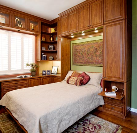 Summer flame melamine with glazed manchester fronts for Murphy beds san francisco
