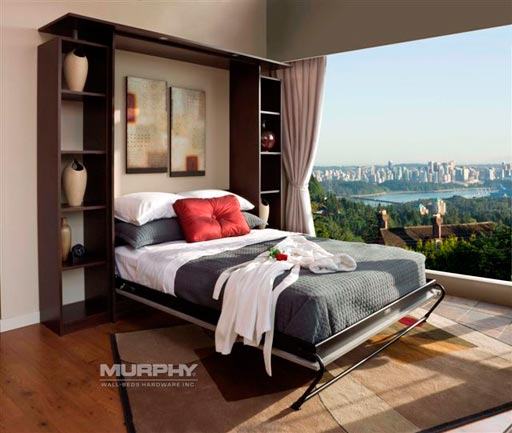 Gallery of murphy wall beds by valet custom cabinets closets for Murphy beds san francisco