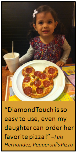 DiamondTouch POS Is Easy To Use!