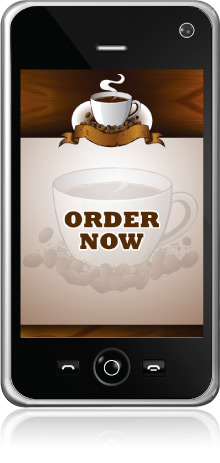 coffee mobile ordering app