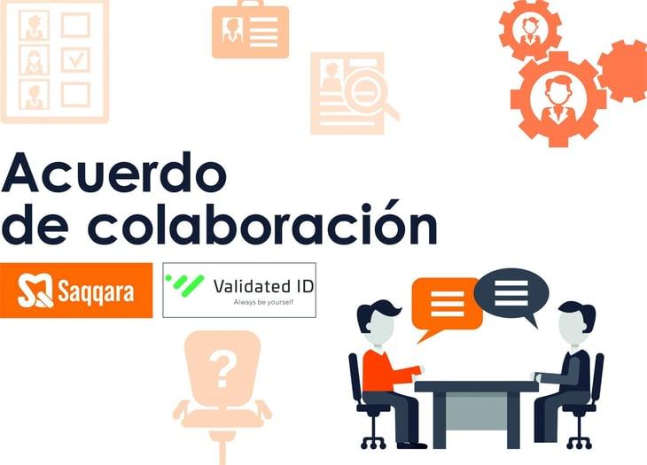 Saqqara y Validated ID firman un acuerdo de colaboración para la prestación de servicios de firma electrónica