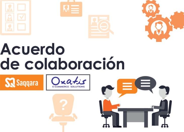 Acuerdo estratégico entre Oxatis y Saqqara Informática.