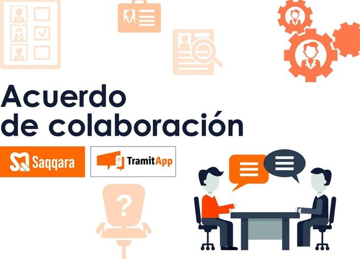 Saqqara y TramitApp se unen para promover la digitalización de los Recursos Humanos