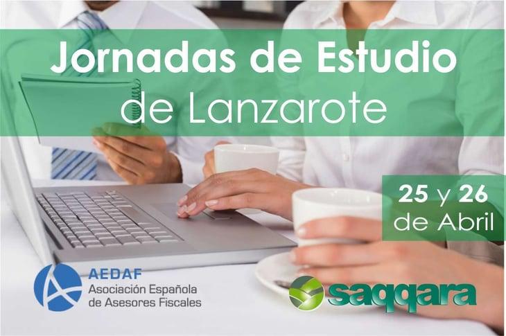 """Jornada """"Demarcación Territorial AEDAF Canarias"""" en Lanzarote"""